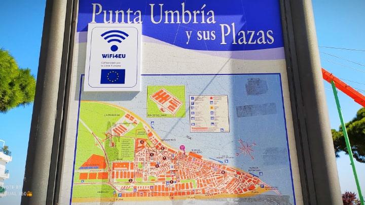 WiFi Gratis en Punta Umbría